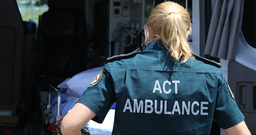 Ambulance | ACT Emergency Services Agency