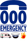 000 Emergency Logo