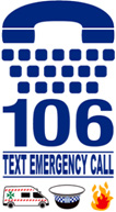 106 Text emergency call