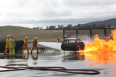 Gas prop training at hume training centre