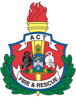 ACT Fire and Rescue badge