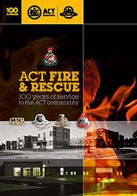 ACTF&R 100 year booklet cover